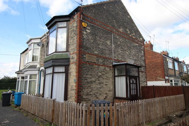 Thumbnail Terraced house for sale in Edgecumbe Street, Hull
