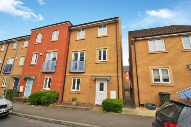 Thumbnail End terrace house for sale in Junction Way, Mangotsfield, Bristol