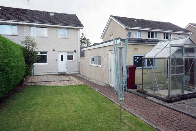 Rear Aspects of Dunedin Drive, Hairmyres, East Kilbride G75