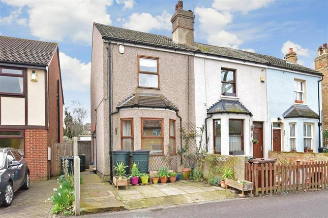 Thumbnail End terrace house for sale in Common Lane, Wilmington, Kent