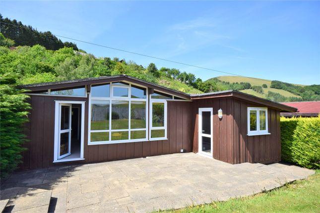 Mobile/park home for sale in Ysgubor, Llanwrin, Machynlleth, Powys