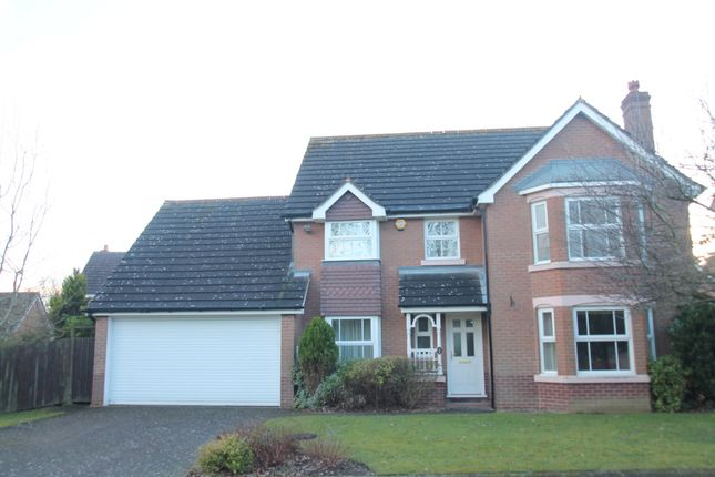 Thumbnail Detached house for sale in Willoughby Drive, Hillfield, Solihull