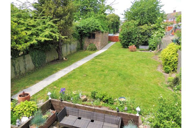 Rear Garden of Sundridge Hill, Cuxton, Rochester ME2