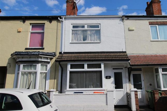 Thumbnail Terraced house for sale in Cosgrove Street, Cleethorpes