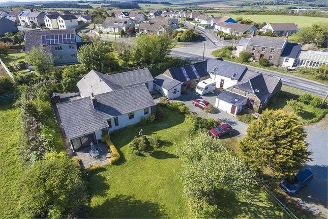 Thumbnail Detached bungalow for sale in Simpson Cross, Haverfordwest, Pembrokeshire