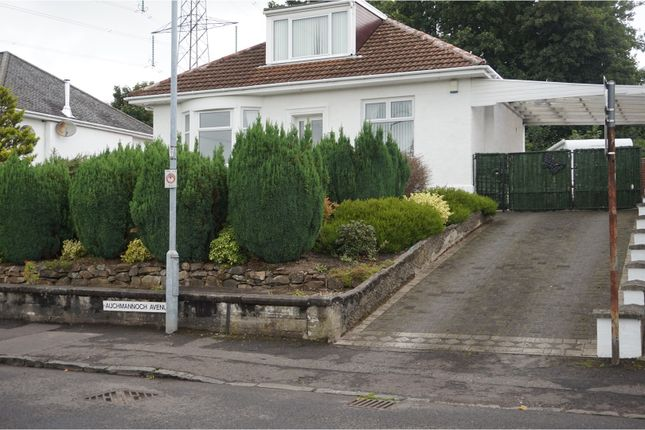 Thumbnail Detached bungalow to rent in Auchmannoch Avenue, Paisley