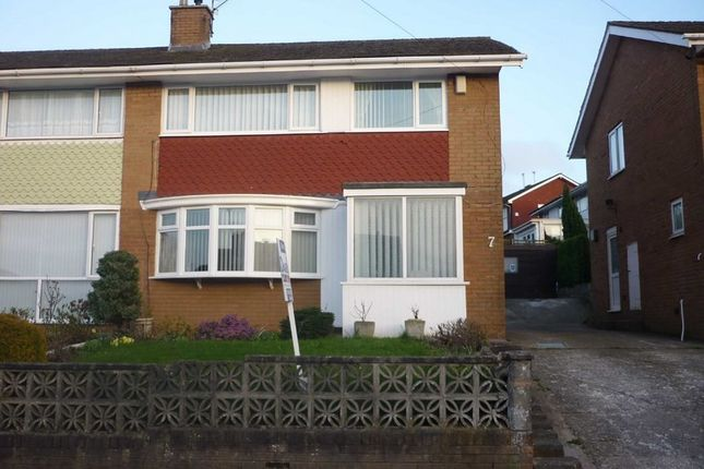 Thumbnail Semi-detached house for sale in Hatherleigh, Rumney, Cardiff.