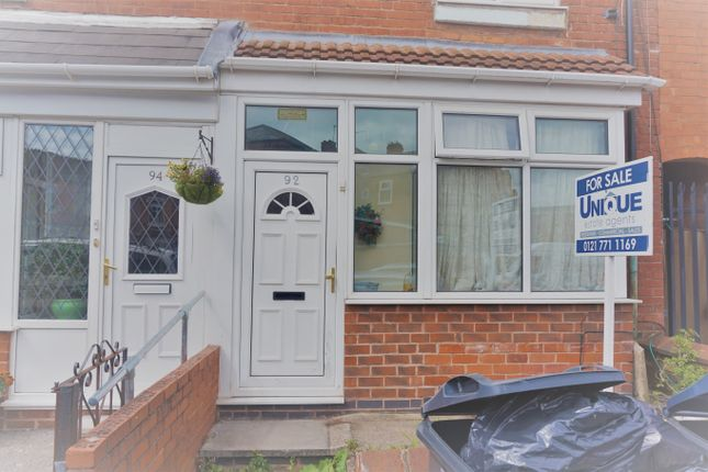 Thumbnail Terraced house for sale in Greswolde Road, Sparkhill
