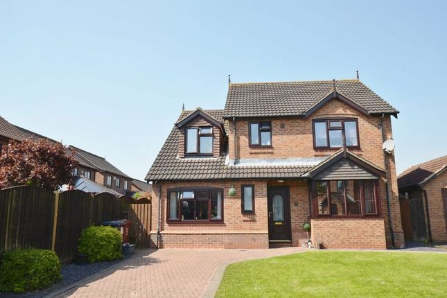 Thumbnail Detached house for sale in Henderson Way, Winterton, Scunthorpe