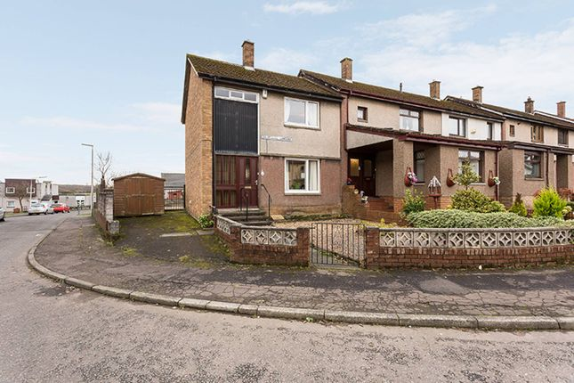 End terrace house for sale in Drumnagoil Gardens, Kelty, Fife