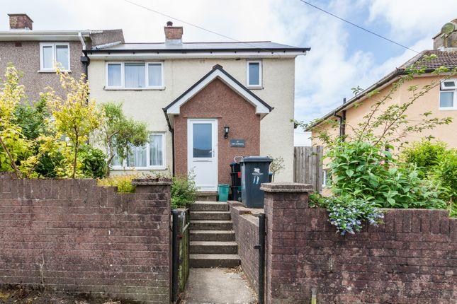 Thumbnail Semi-detached house for sale in Heol Yr Ysgol, Ebbw Vale