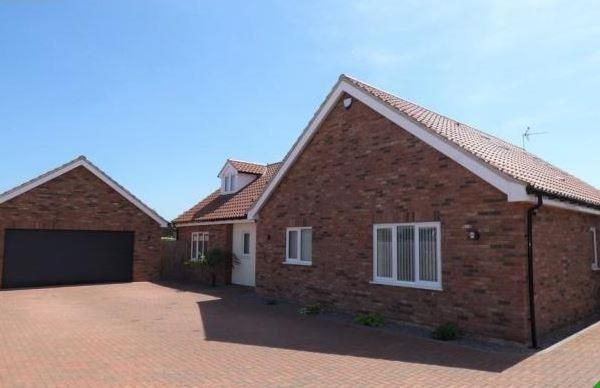 Thumbnail Detached house to rent in Holmsey Green, Beck Row, Bury St. Edmunds