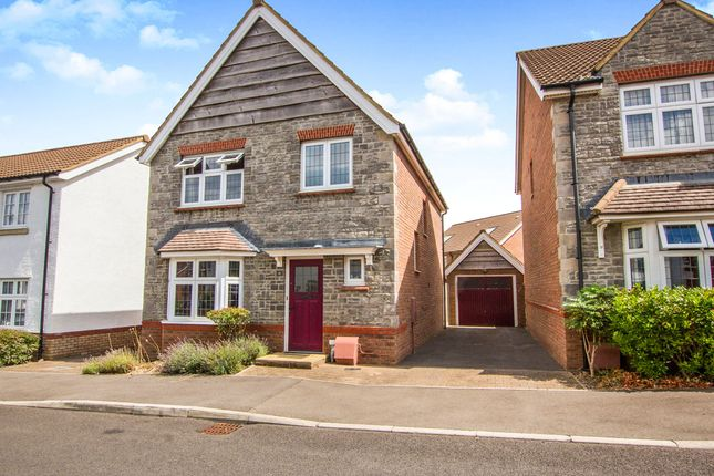 Thumbnail Detached house for sale in Leader Street, Cheswick Village, Bristol