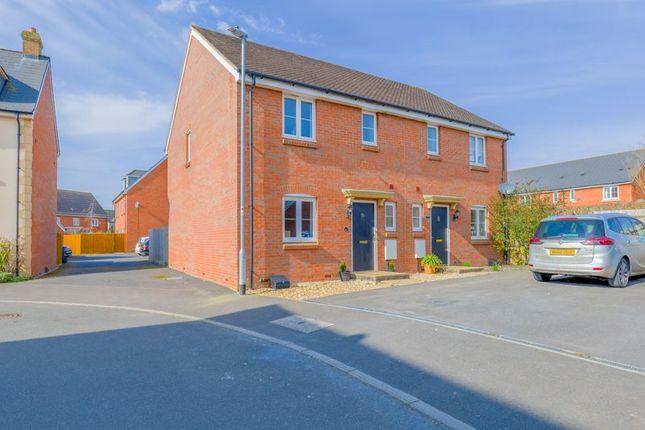 Thumbnail Semi-detached house for sale in Nightingale Close, Melksham