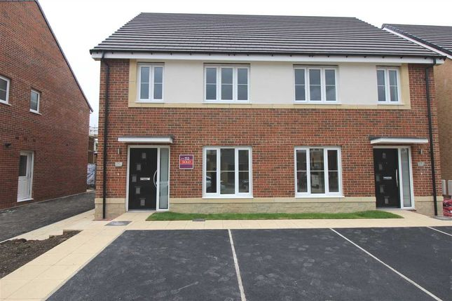 Thumbnail Semi-detached house to rent in Strother Way, Bassington Manor, Cramlington