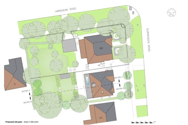 Thumbnail Land for sale in Surrenden Road, Brighton, East Sussex