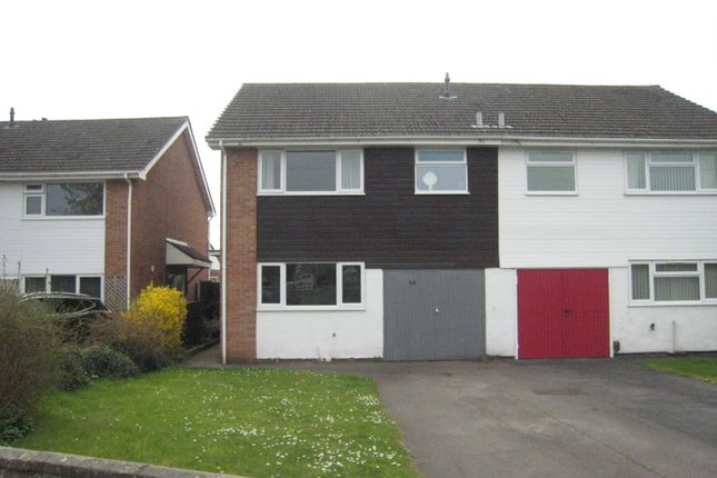 Thumbnail Semi-detached house to rent in Scafell Avenue, Fareham