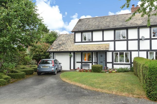 Thumbnail Semi-detached house for sale in Dilwyn, Herefordshire