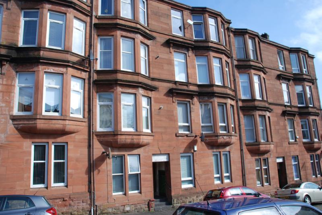 Thumbnail Flat to rent in Armadale Place Greenock Unfurnished, Greenock