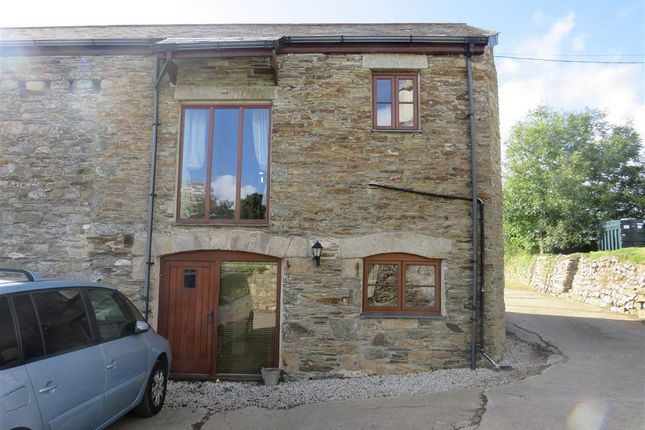 Thumbnail Barn conversion to rent in Polhilsa, Callington