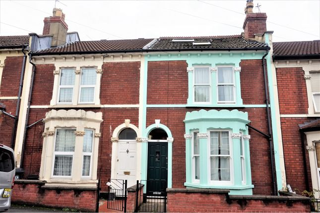 Thumbnail Terraced house for sale in Colston Road, Eastville