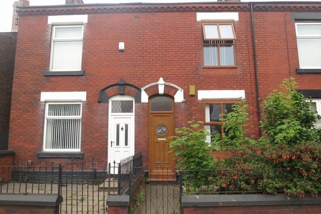Thumbnail Terraced house to rent in Stockport Road, Denton, Manchester