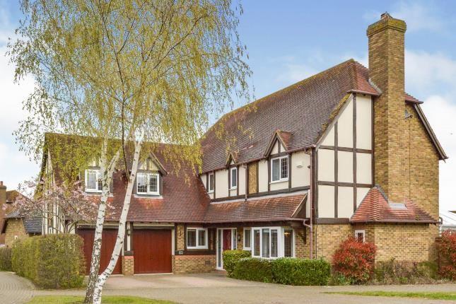 Thumbnail Detached house for sale in Lynmouth Crescent, Furzton, Milton Keynes, Bucks