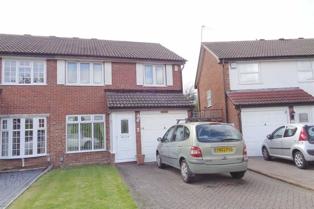 Thumbnail Semi-detached house for sale in Tanglewood Close, Shard End, Birmingham