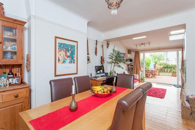 Semi-detached house for sale in Somerset Avenue, West Wimbledon
