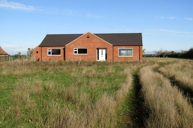Thumbnail Detached bungalow for sale in Priesthows Lodge Butterwick Road, Messingham, Scunthorpe, South Humberside