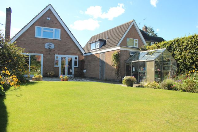 Thumbnail Detached bungalow for sale in Syston Road, Queniborough, Leicester