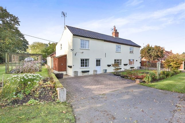 Thumbnail Cottage for sale in Dereham Road, Westfield, Dereham