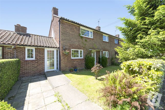 Thumbnail Semi-detached house for sale in The Gossetts, Margaret Roding, Dunmow