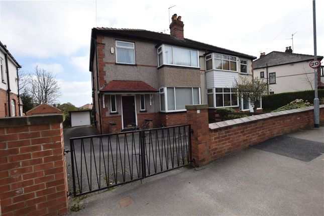 Thumbnail Semi-detached house for sale in Armley Grange Drive, Leeds, West Yorkshire