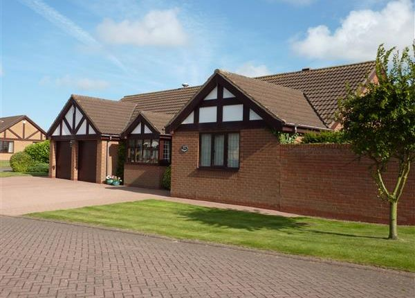 Thumbnail Detached bungalow for sale in Chester Grange, Off Glebe Road, Scartho, Grimsby