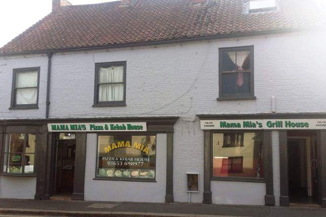 Thumbnail Restaurant/cafe for sale in Stevens Yard, Newbiggin, Malton