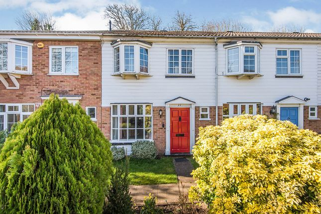 Thumbnail Terraced house for sale in Queensbridge Park, Isleworth