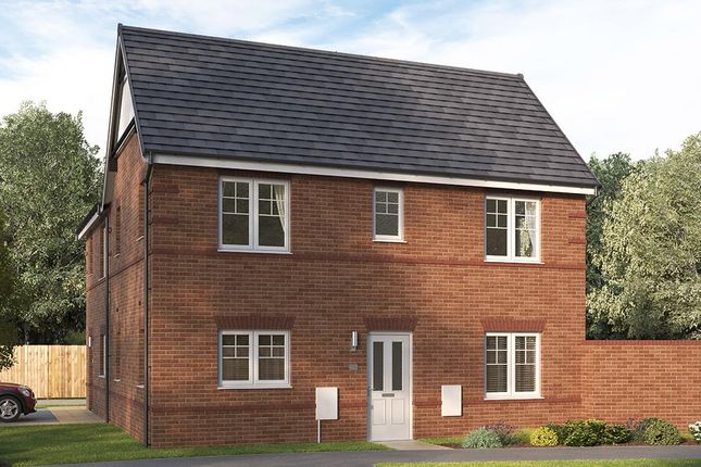 """Thumbnail 3 bedroom semi-detached house for sale in """"The Seabridge"""" at William Nadin Way, Swadlincote"""
