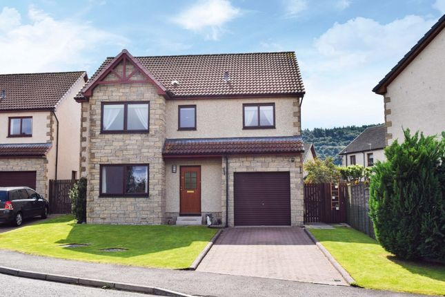 Thumbnail Detached house for sale in Sutherland Crescent, Abernethy, Perthshire
