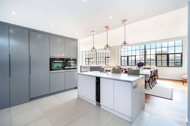Thumbnail Flat for sale in Chimney Court, 23 Brewhouse Lane, London