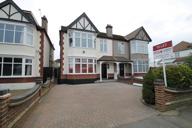 Thumbnail Semi-detached house to rent in Seagry Road, Wanstead