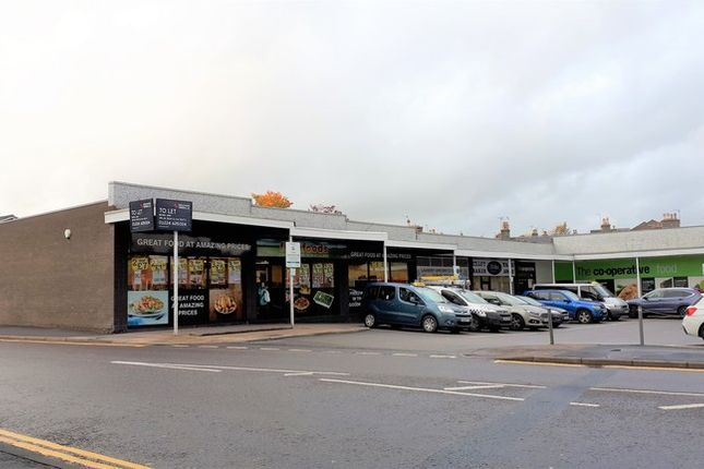 Retail premises to let in North Street, Inverurie