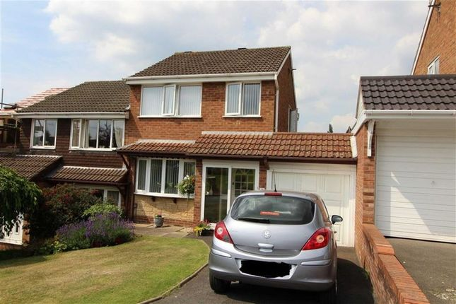 Thumbnail Semi-detached house for sale in Otterstone Close, Northway, Sedgley