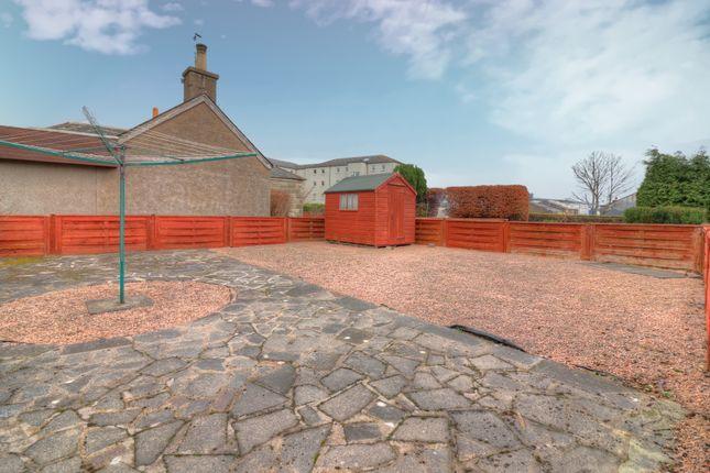 Garden of Farburn Terrace, Dyce, Aberdeen AB21