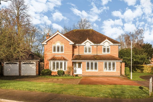 Thumbnail Detached house for sale in Grosvenor Close, Upper Saxondale, Nottingham