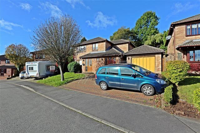 Thumbnail Detached house for sale in Beechwood Drive, Llantwit Fardre, Pontypridd