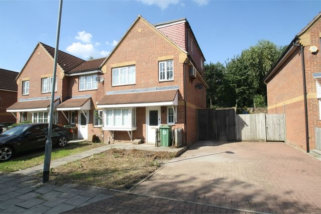 Thumbnail Semi-detached house to rent in Vulcan Close, Beckton, London