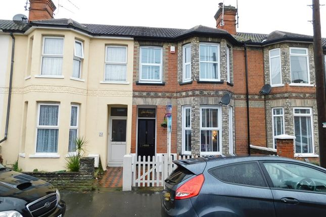 Thumbnail Terraced house to rent in Oakland Road, Dovercourt, Harwich