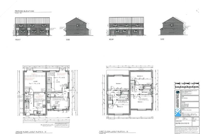Thumbnail Terraced house for sale in The Foresters Public House Site, Barrons Way, Borrowash