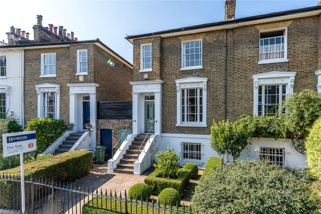 Thumbnail Semi-detached house for sale in Stockwell Park Crescent, London